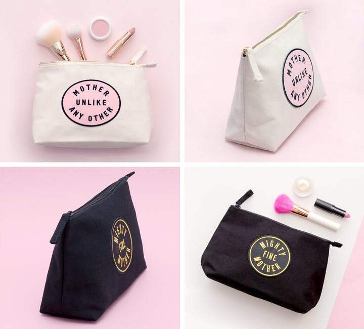 patch makeup bags