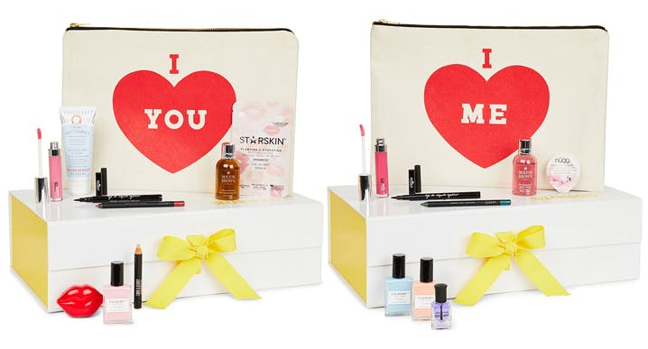 selridges valentines beauty box