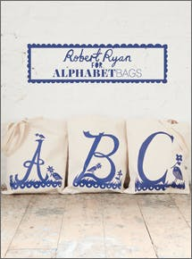 Rob Ryan for Alphabet Bags