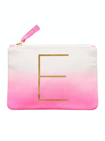 Initial Ombre Pouch - E - Second