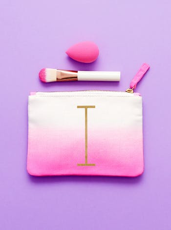 Initial Ombre Pouch - I - Second