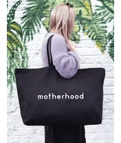 Motherhood - Black REALLY Big Bag