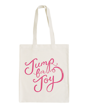 Jump for Joy - BerinMade for Alphabet Bags