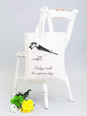 Today Will Be A Great Day Tote Bag | Karin Akesson | Alphabet Bags