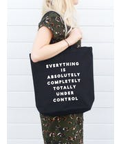Under Control - Canvas Tote Bag