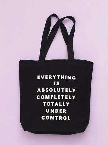 Under Control - Cotton Tote Bag - Second