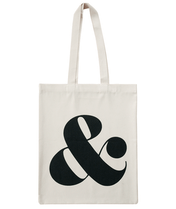 Ampersand - Cotton Tote Bag