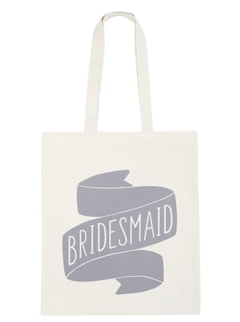 Bridesmaid Tote Bag | Bridal Party Tote Bag | Alphabet Bags