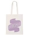 Bridesmaid Lavender - Wedding Tote Bag