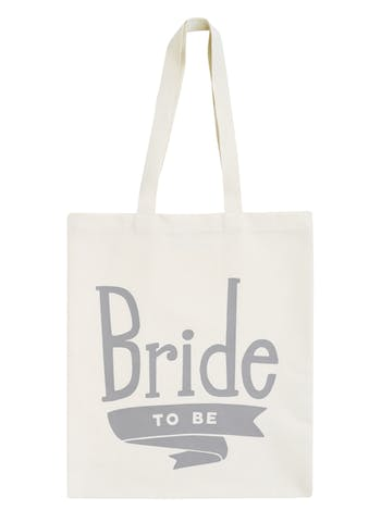 Bride to Be Tote Bag | Bridal Party Tote Bag | Alphabet Bags
