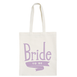 Bride To Be Lavender - Wedding Tote Bag