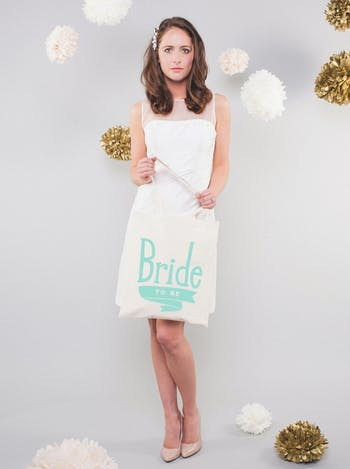 Bride to Be Tote Bag | Wedding Day Bag | Alphabet Bags