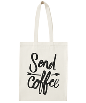 Send Coffee - Cotton Tote Bag