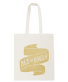 Maid of Honour Gold Glitter - Wedding Tote Bag