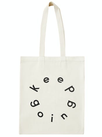 Keep Going Tote Bag | Dance Shoulder Bag | Alphabet Bags