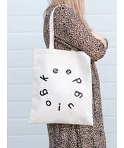 Keep Going - Cotton Tote Bag