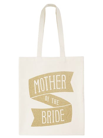 Mother of the Bride Tote Bag | Wedding Tote Bag | Alphabet Bags