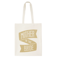 Mother of the Bride Gold Glitter - Wedding Tote Bag