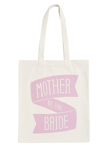 Mother of the Bride Tote Bag | Mother of the Bride Cotton Tote | Alphabet Bags