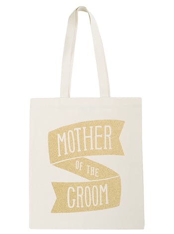 Mother of the Groom Tote Bag | Wedding Tote Bag | Alphabet Bags