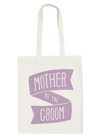Mother of the Groom Tote Bag | Canvas Wedding Tote | Alphabet Bags