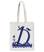 Rob Ryan for Alphabet Bags - D