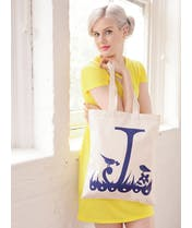 Rob Ryan for Alphabet Bags - J