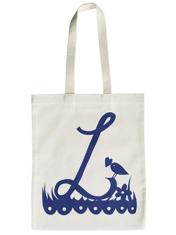 Rob Ryan for Alphabet Bags - L