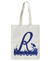 Rob Ryan for Alphabet Bags - R