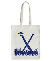 Rob Ryan for Alphabet Bags - X