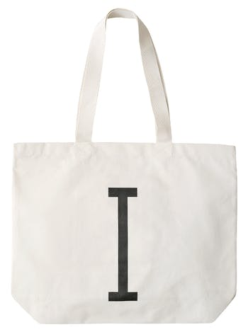 Big Canvas Bags | Personalised Bags & Gifts For Her | Alphabet Bags