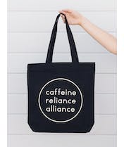 Caffeine Reliance Alliance - Canvas Tote Bag  - Second