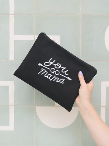 You Go Mama - Black Pouch - Second