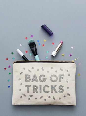 Bag of Tricks | Canvas Handbag Organiser | Alphabet Bags