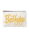 Bon Voyage - Large Canvas Pouch