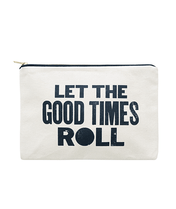 Good Times - Large Canvas Pouch