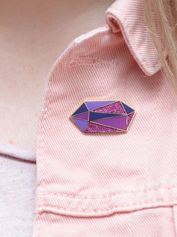 Amethyst / February - Enamel Pin - Second