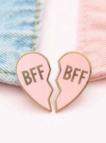 BFF - Enamel Pin Set - Second