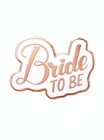 Bride to Be - Enamel Pin