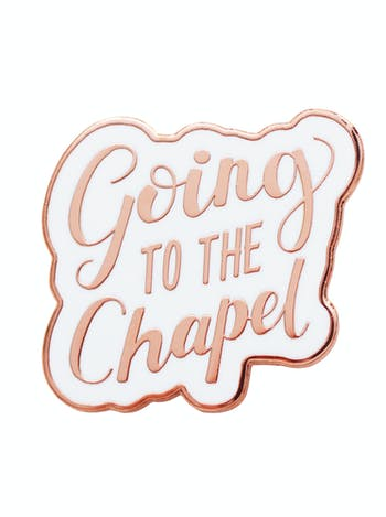 Going to the Chapel - Enamel Pin
