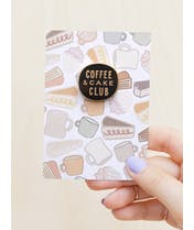 Coffee & Cake Club - Enamel Pin
