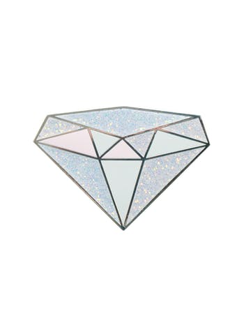 Diamond Birthstone Pin | Birthday Gift | Alphabet Bags