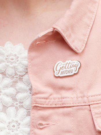 Getting Hitched - Enamel Pin