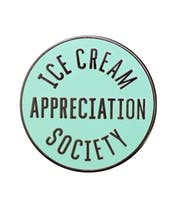 Ice Cream Appreciation Society - Mint - Enamel Pin