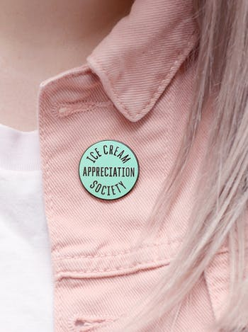 Ice Cream Appreciation Society - Enamel Pin