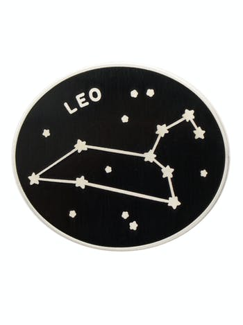 Leo Zodiac Enamel Pin | Birthday Gifts | Alphabet Bags
