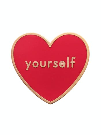 Love Yourself - Enamel Pin - Second