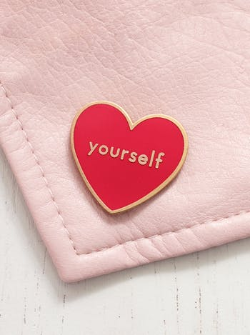Love Yourself - Enamel Pin