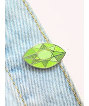 Peridot  - Gemstone Pin
