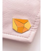 Topaz - Gemstone Pin